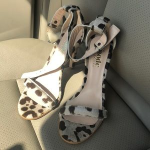 The Mode Collective Leopard Heels